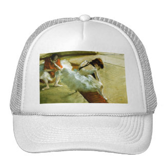 Degas painting Gallery Player ballet ballerina art Trucker Hat