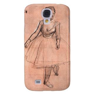 Degas pretty ballerina sketch ballet dancer art samsung galaxy s4 cases
