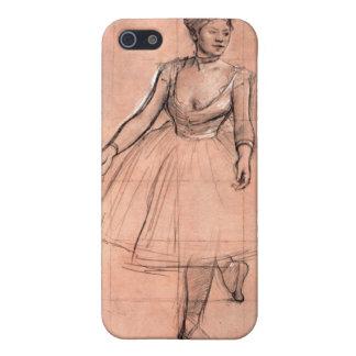 Degas pretty ballerina sketch ballet dancer art case for iPhone SE/5/5s