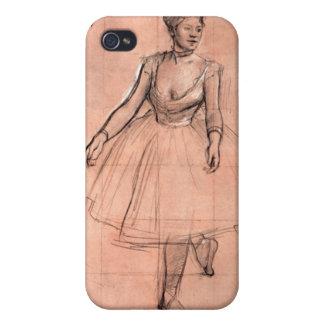 Degas pretty ballerina sketch ballet dancer art iPhone 4/4S case
