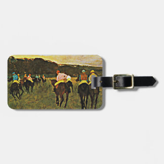 Degas - Races at Longchamp Tags For Bags
