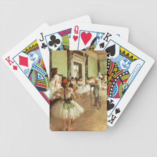 Degas the dance class Playing Cards