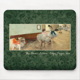 "Degas ""The Dance Lesson"" Mouse Pad"