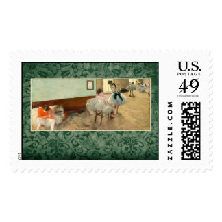 "Degas ""The Dance Lesson"" Postage"