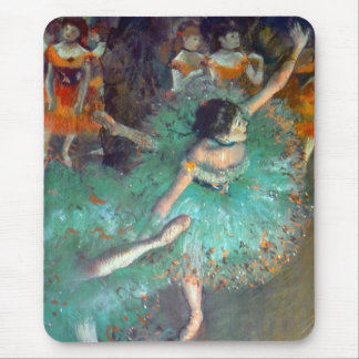 Degas - The Green Dancers Mouse Pad