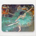 Degas - The Green Dancers Mousepads