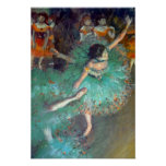 Degas - The Green Dancers Posters