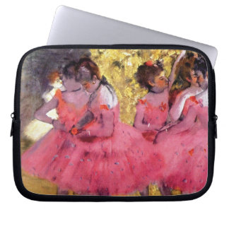 Degas - The Pink Dancers Before The Ballet Computer Sleeves