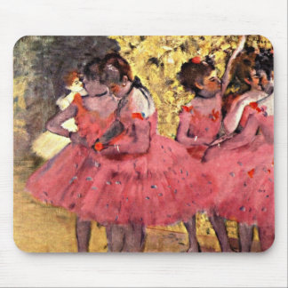 Degas: The Pink Dancers Mouse Pad