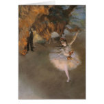 Degas The Star Greeting Cards