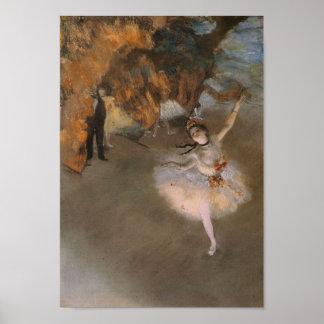 Degas The Star Print