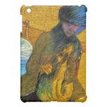 Degas - Vintage Fine Art - Mary Cass With Dog iPad Mini Cases