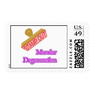 Degeneración macular sello