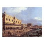 Degli Schiavoni de Canaletto- Riva: El parecer del Postales