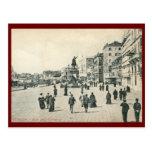 Degli Schiavoni, vintage de Riva de Venecia Postal