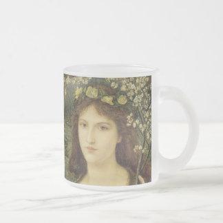 Degli Scrovigni de Madonna Pietra Taza De Café Esmerilada