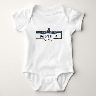 DeGrassi Street, Toronto Street Sign Baby Bodysuit
