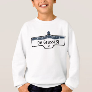 DeGrassi Street, Toronto Street Sign Sweatshirt