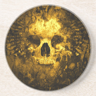 Degrated Skull Coaster