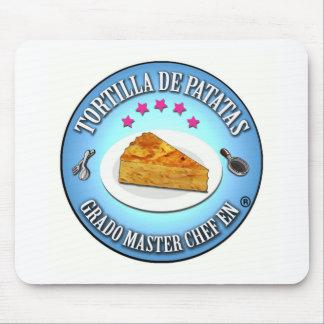 Degree Master Potato Tortilla Chef Mouse Pad