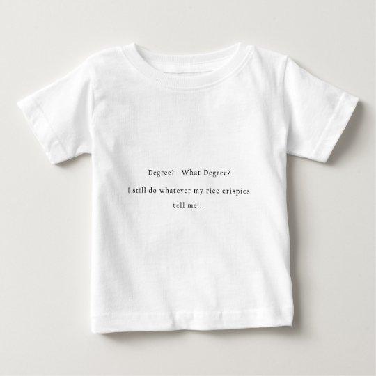 Degree Rice Crispies Baby T-Shirt