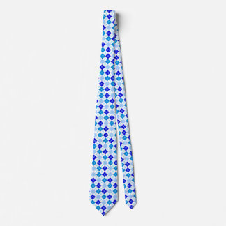 Degrees of Blue Argyle Custom Tie