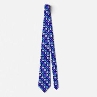 Degrees of Blue Argyle Tie