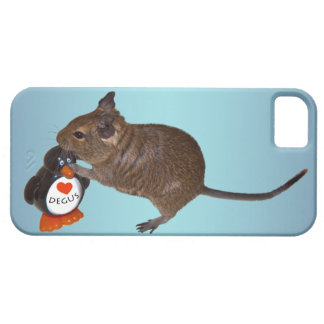 Degu and Toy iPhone 5 Case (Sky Blue Mix)