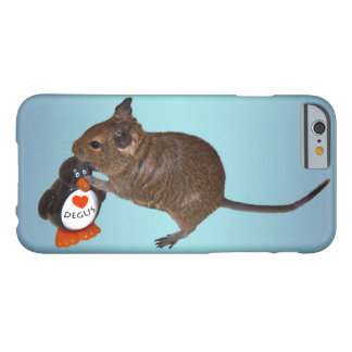Degu and Toy iPhone 6 Case (Sky Blue Mix)