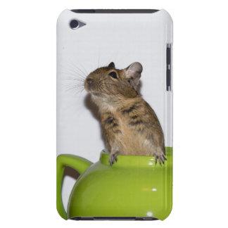 Degu in a Green Teapot iPod Touch Case