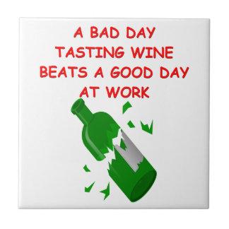 degustación de vinos teja