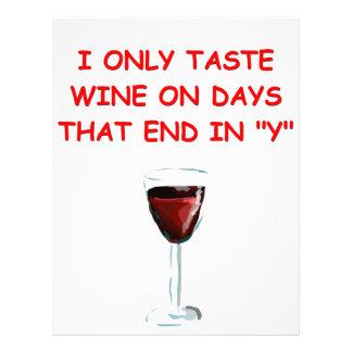 degustación de vinos membrete