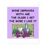 degustación de vinos postal