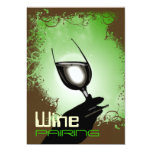 Degustación de vinos que empareja el ~ 5 x 7 comunicados personalizados