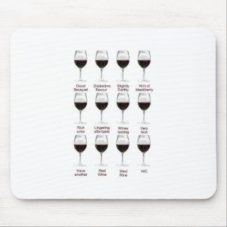 Degustación de vinos tapetes de ratones