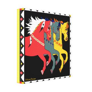 DeHaan Designs Mystic Ponies Wrapped Canvas Gallery Wrap Canvas