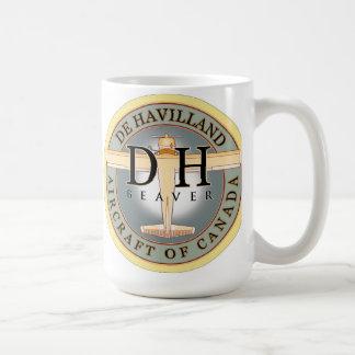 Dehavilland Beaver aircraft sign Coffee Mug