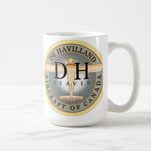 Dehavilland Beaver aircraft sign Classic White Coffee Mug