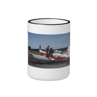 DeHavilland Chipmunk Ringer Coffee Mug