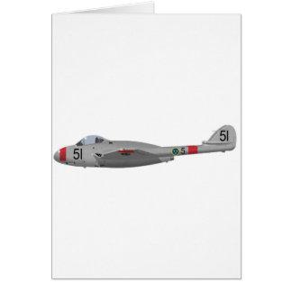 DeHavilland DH-100 Vampire Card