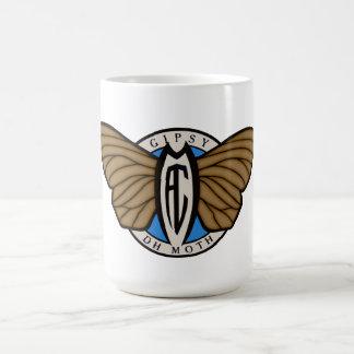 Dehavilland Gypsy Moth aircraft Coffee Mug