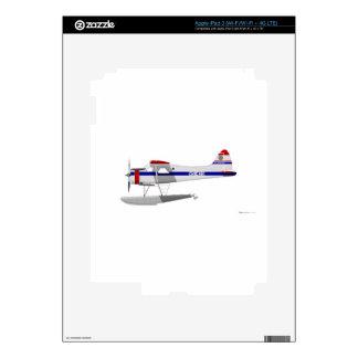 DeHavilland U-6 Beaver Floats Skins For iPad 3
