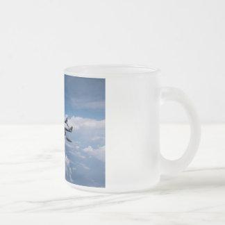 DeHavilland Venom Frosted Glass Coffee Mug