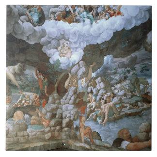 Dei Giganti (fresco) de Sala (véase también 78482- Azulejo Cuadrado Grande