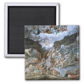 Dei Giganti (fresco) de Sala (véase también 78482- Imán Cuadrado