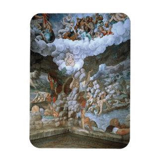 Dei Giganti (fresco) de Sala (véase también 78482- Imán Rectangular