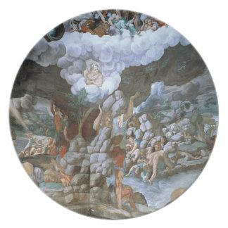 Dei Giganti (fresco) de Sala (véase también 78482- Platos Para Fiestas