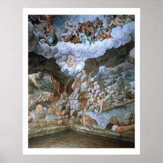 Dei Giganti (fresco) de Sala (véase también 78482- Póster