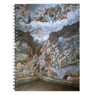 Dei Giganti (fresco) de Sala (véase también 78482- Spiral Notebook
