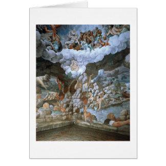 Dei Giganti (fresco) de Sala (véase también 78482- Tarjeta De Felicitación